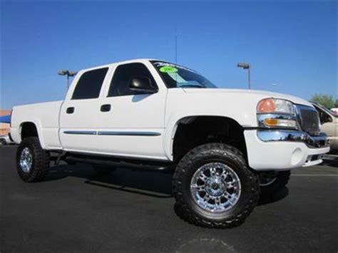 find   gmc sierra  hd crew cab  custom lifted trucknavigation  miles