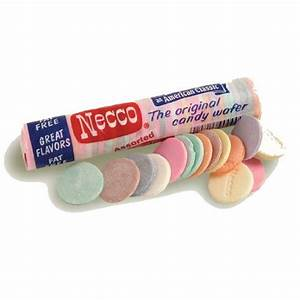 Necco Wafer Roll : Hard Candy