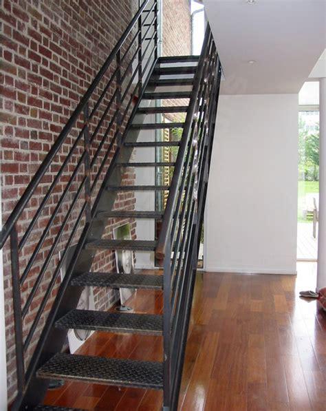photo dt34 esca droit 174 escalier droit m 233 tal au design