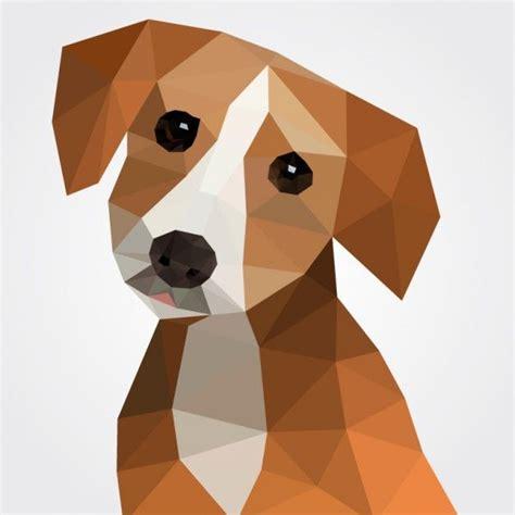 Download Polygonal Dog for free Arte polígono Periodo