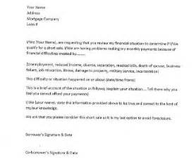 For Example Short Sale Hardship Letter Sample