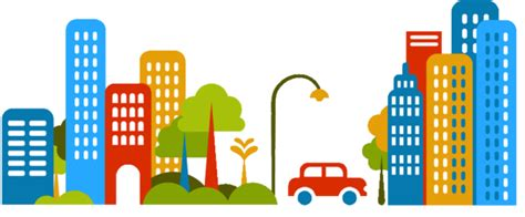Clipart City Cars City Free Images At Clker Vector Clip