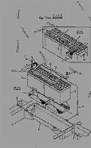 Battery - Bulldozer Komatsu D20p-3