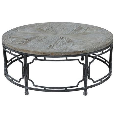 This unique side table has tabletops that are both top lifts up and forward to create versatile work surface top can hold up to 50 lbs. Kempton Coffee Table | Iron coffee table, Round coffee ...