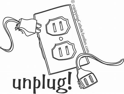 Coloring Television Screen Flat Unplug Clare Template