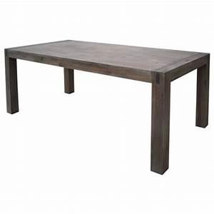 Table En Acacia : table de salle manger en acacia massif lave 200x100x77cm stacey trendy homes ~ Teatrodelosmanantiales.com Idées de Décoration