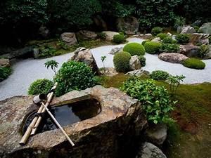 Idée Jardin Japonais : jardin zen d coration jardin super d co ~ Nature-et-papiers.com Idées de Décoration