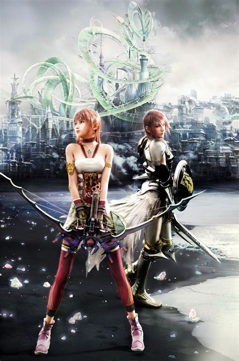 claire farron serah farron final fantasy xiii final