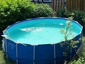 schoner grosser pool 450 x 122 m komplett in lahstedt With französischer balkon mit günstige pools für den garten