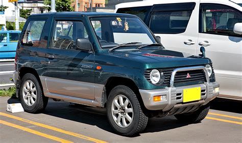mitsubishi mini mitsubishi pajero mini wikipedia the free encyclopedia