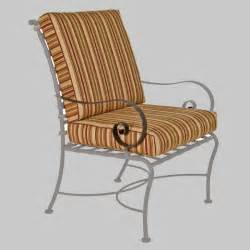 ow classico dining club chairs replacement cushions furniture for patio