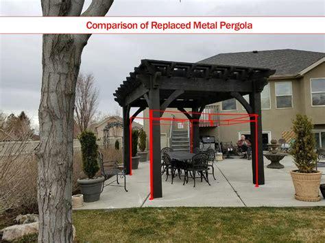 pergola aluminium en kit aluminum metal timber frame vinyl or wood pergola kit western timber frame