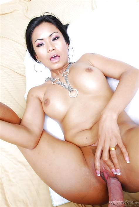 Slutty Asian Milf With Big Jugs Gets Her Love Holes