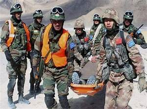 Chinese and Indian border troops hold joint disaster ...