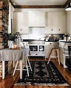 best 25 dark furniture ideas on pinterest dark With kitchen colors with white cabinets with fleur en papier facile