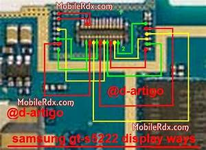 Samsung S5222 Lcd Display Pin Ways Solution