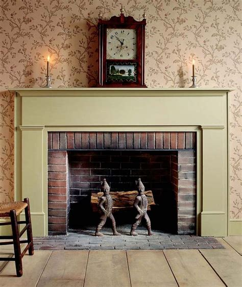click     project plans    simple federal fireplace mantel click