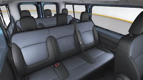 renault caravelle interior opel vivaro combi lg 2015 dimensions boot space and interior
