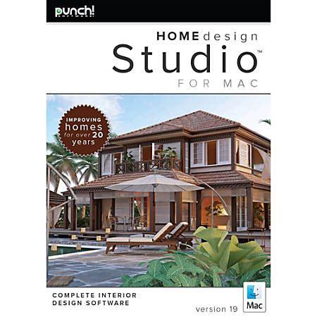 home design for mac punch home design studio for mac v19 version