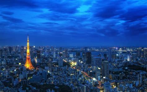 night view tokyo tower japan  wallpaperscom