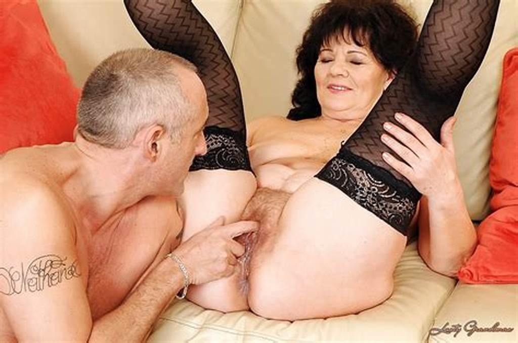 #Lusty #Granny #Helena #May #Gets #Her #Love #Holes #Fucked #With