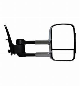 Tuff Terrain Extendable Towing Mirrors For Ford Ranger Px