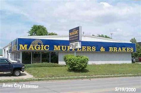 magic muffler brakes ames iowa car repair