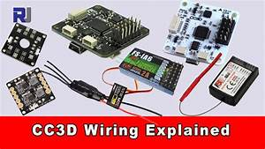 Cc3d Flight Controller Wiring Connection Explained