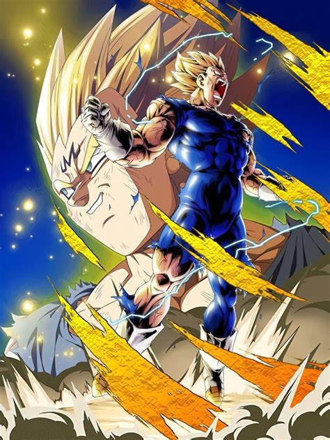 majin vegeta dragon ball  dokkan battle legends wallpaper