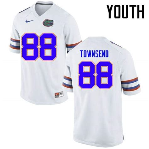 Youth Florida Gators #88 Tommy Townsend Orange Nike NCAA ...