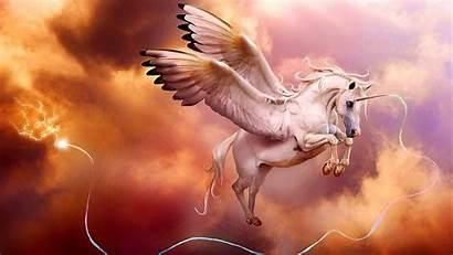 Unicorn Wallpapers Pegasus 4k Pink Mythology Dreamland