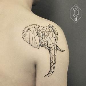 Tatouage 3 Points : les tatouages base de lignes g om triques et de points ~ Melissatoandfro.com Idées de Décoration