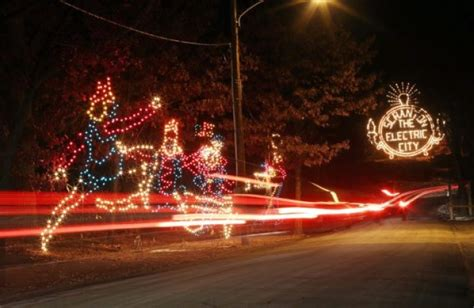 merry and bright nay aug park holiday light show to shine
