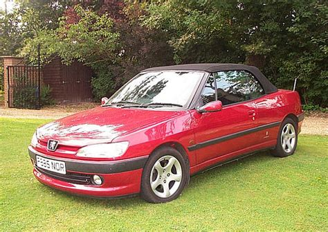 amazing peugeot 306 cabriolet peugeot 306 cabriolet 2 0 photos and comments www