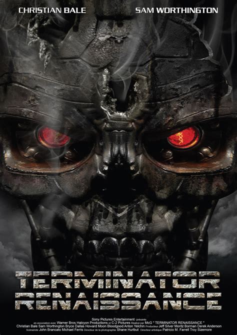 Judgment day, t2, the terminator, endoskeleton, and any depiction of endoskeleton are trademarks of studiocanal. Jaquette/Covers Terminator 4 : Renaissance ( Terminator Salvation )