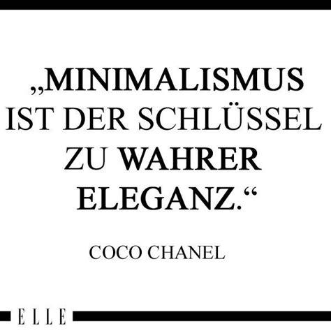 zitate coco chanel die 25 besten ideen zu minimalismus auf minimalistischen lebenden minimalistischer