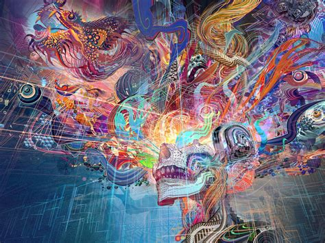 desktop wallpaper abstract thoughts human brain colorful hd image picture background zvfx