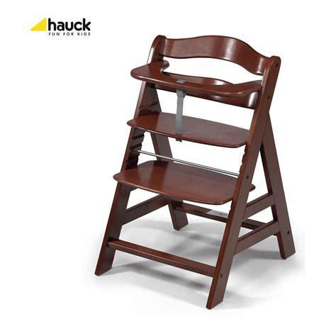 Hochstuhl Buche Holz Dunkelbraun Treppenhochstuhl