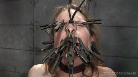 Rain Degrey Ashley Lane In Clothespins All Over Her Face