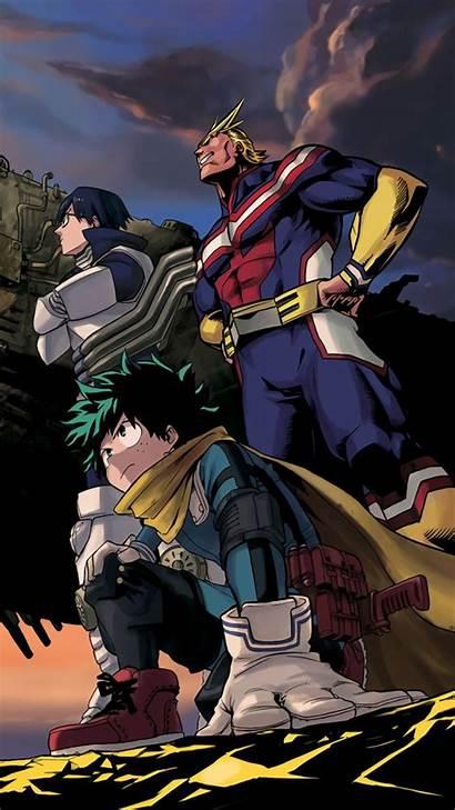Academia Hero Wallpapers Boku 4k Deku Anime