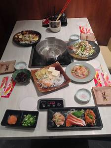 Traditional Japanese Dinner Table