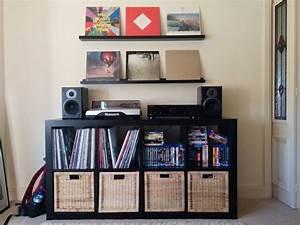 meuble pour disque vinyle port e le sur mesure du meuble With meuble rangement pour disque vinyle
