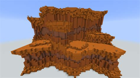 improved cliff biomes   terraforming exercise minecraft map