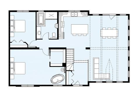 plan maison 2 chambres maison neuve plain pied modèle