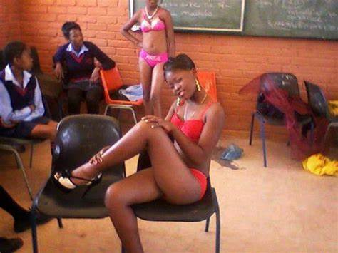 Mzansi Model In School Uniform