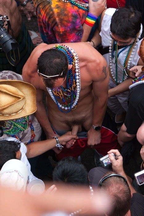 handjob in public mardis gras hot porno