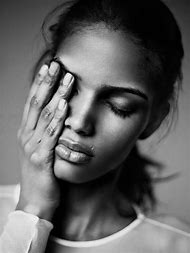 Beautiful Black and White Model Portraits