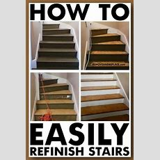 How To Refinish Stairs  Removeandreplacecom