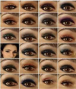 Astuce De Maquillage Pour Les Yeux Marrons : maquillage yeux marrons star ~ Melissatoandfro.com Idées de Décoration