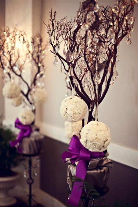 decoration arbre pour mariage arbres de mariage centre de table ou simple d 233 coration